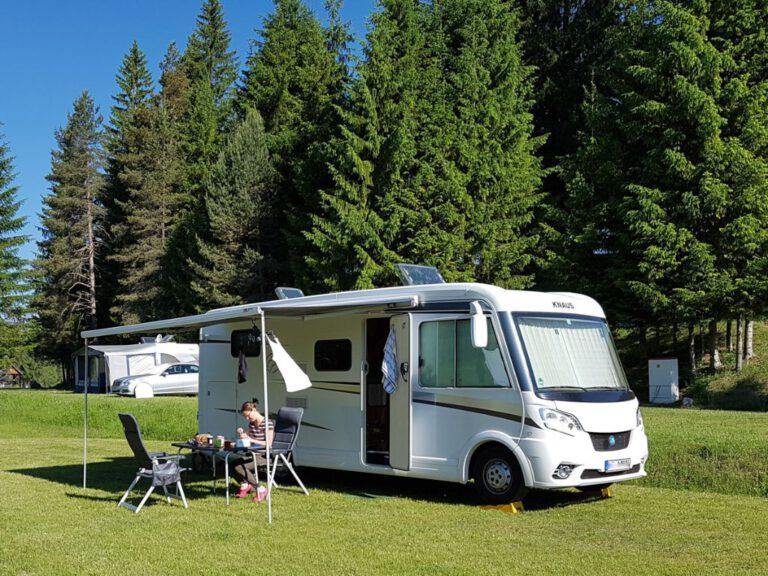 Campen im grünen
