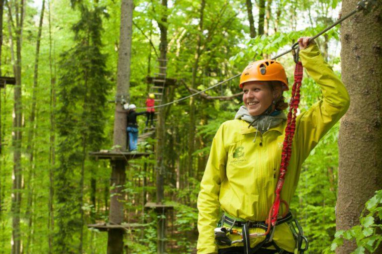 Kletterwald Erlebniswald Mainau